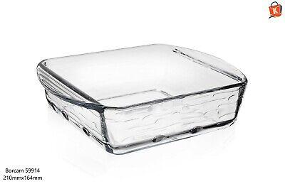 Fuente para Horno Lasaña Molde de Cristal Servir Ofenschüssel Bandeja Nuevo Ovp