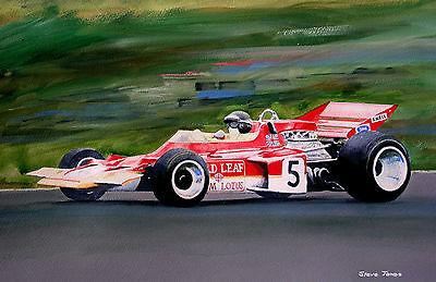 Original Jochen Rindt    Painting