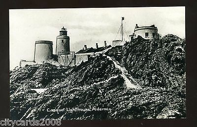 Channel Islands  ALDERNEY  Casquet Lighthouse  RP   #3