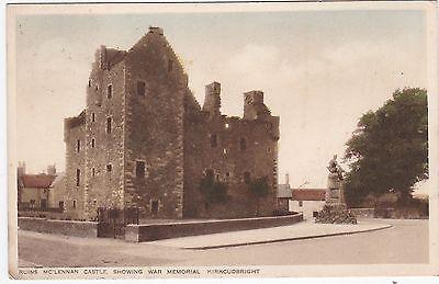 Mc'Lennan Castle Ruins & War Memorial, KIRKCUDBRIGHT, Kirkcudbrightshire