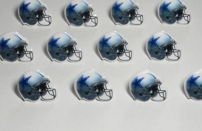 Dallas Cowboy Party Decorations (12 NFL Dallas Cowboys Football Cupcake Rings Topper Decorations Party Bag)