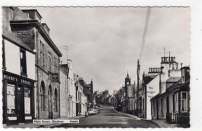 MAIN STREET, GLENLUCE: Wigtownshire postcard (C4120).