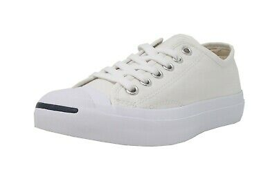 - CONVERSE Jack Purcell Ox White Lace Up Canvas Fashion Sneakers Adult Men Shoes