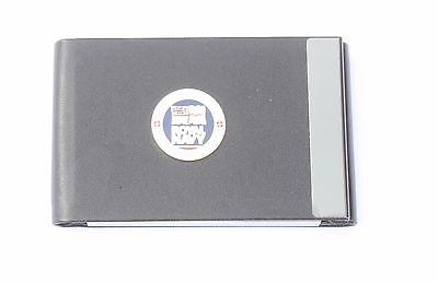 Royal Navy Lest We Forget Pu Metal Business Credit Card Holder Bgk60