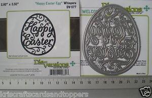 Die Versions ~ HAPPY EASTER EGG  ~  Die~ NEW ~ FREE 1st Class P&P