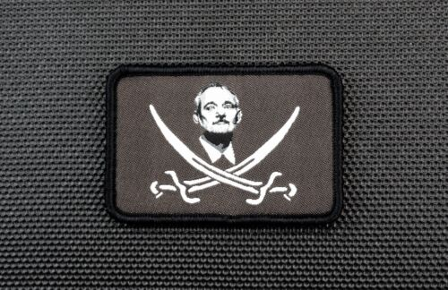Calico Bill Murray Woven Morale Patch Caddyshack Be Like Bill Zombieland Hook