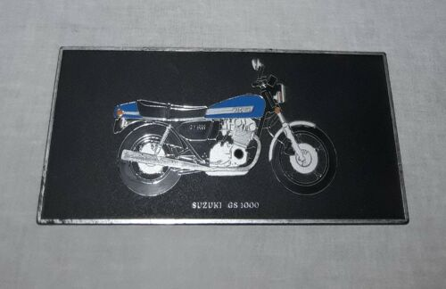 SUZUKI GS 1000 MOTORCYCLE SIGN WALL PLAQUE WESTMONT MANUFACTURING