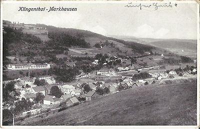 Markhausen bei Klingenthal, Graslitz, alte Ak von 1942, Böhmen, Sudetenland
