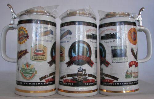 Cherryland Brewery,  Sturgeon Bay, Wisconsin 1998 beer stein