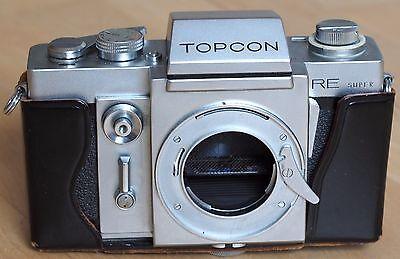 Topcon RE Super 35mm SLR film camera body | Super D Exakta mount