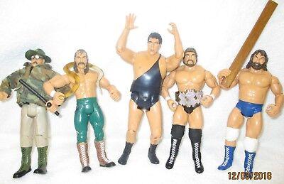 JAKKS WWE Loose Classic Superstars ANDRE Jake Roberts Hacksaw Slaughter Debiase for sale  Nashville