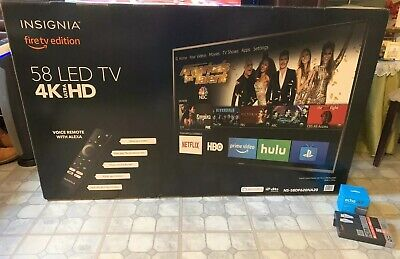 Insignia™ - 58 inch; Class - LED - 2160p - Smart - 4K UHD TV with HDR - Fire TV