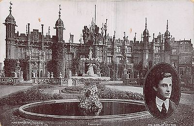 POSTCARD  POLITICS   The  Earl of  Lytton    KNEBWORTH  Herts