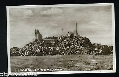 Channel Islands  ALDERNEY  Casquet Lighthouse view from Sea  RP #1
