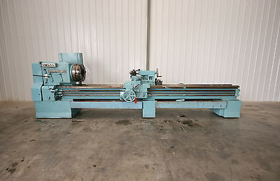 12492 Leblond Hollow Spindle 26 X 144 Lathe 9 Spindle Bore