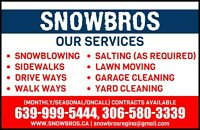 Snow Blowing and salting 24 hours