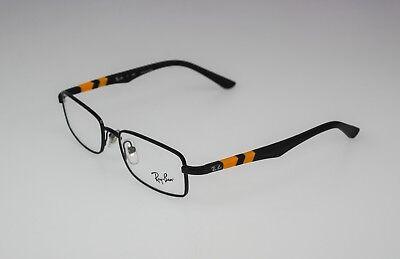 RayBan RB1030 4005 Kids Black Yellow Rx Eyeglass Frames Glasses 47☐16-125