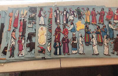 Betty Lukens Through the Bible in Felt - 182 Bible Stories + Scene Arrangements