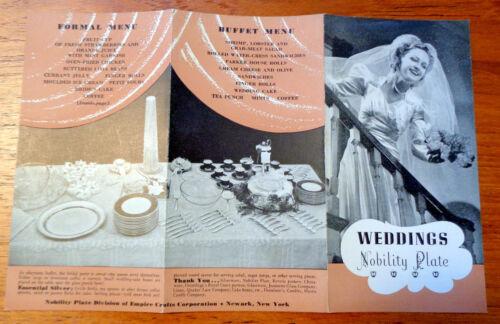 5 Nobility Silver Co. Celebration Brochures, Weddings Announcements, Showers +