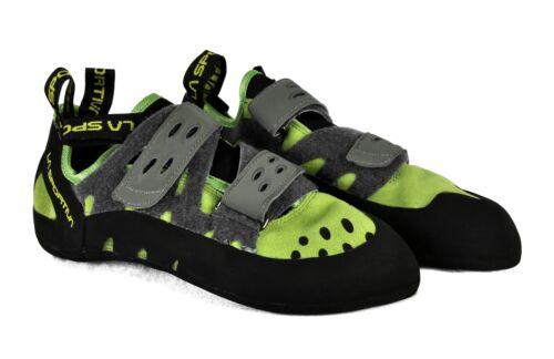 La Sportiva Mens Tarantula Climbing Shoes 10C Kiwi/Grey Size EU 41 US 8.5
