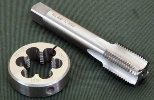 Mauser SMALL Ring, tap & die set 0.980 inch x 12 TPI