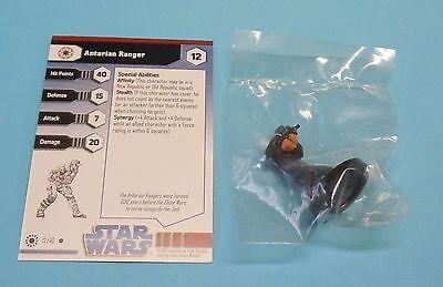 Star Wars Miniatures Jedi Academy Antarian Ranger #12/40 NEW NIB Minis