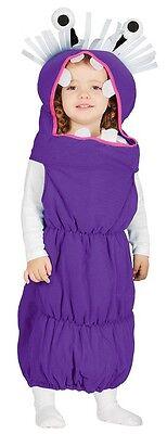 Baby Mädchen Jungen lila Monster Kostüm Kleid Outfit 6-12-24 Monate