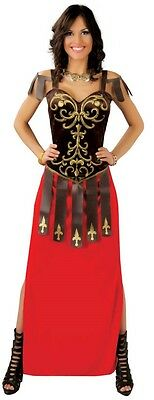 Ladies Sexy Roman Maxi Historical Greek Toga Fancy Dress Costume Outfit 14-18