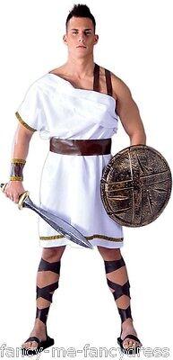 Herren Grichischer Spartaner Sparta Krieger Film Soldaten Kostüm Kleid Outfit
