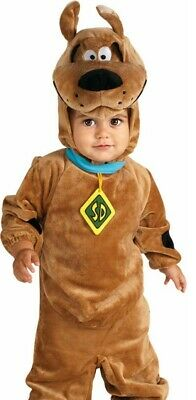 Deluxe Scooby Doo Costume Infant Toddler Baby Romper Plush Cute Puppy - 12-18 - Scoobydoo Baby Kostüm