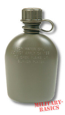 US Feldflasche 1Qt original oliv grün Army Made in USA