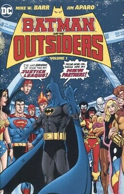 BATMAN & THE OUTSIDERS HC VOL 1 REPS 1-12, BRAVE AND THE BOLD 200