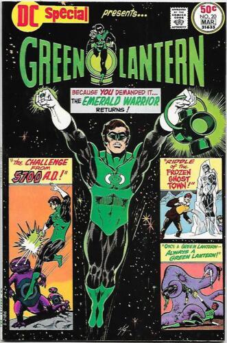 DC Special #17, DC 1975 Green Lantern Gil Kane NM