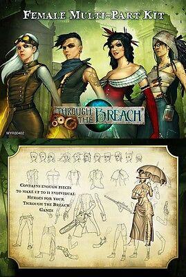 Through the Breach RPG: Female Multi-Part Kit WYR 30402