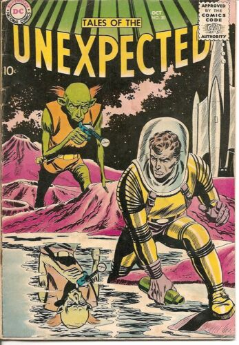 Tales of the Unexpected #30 VG-