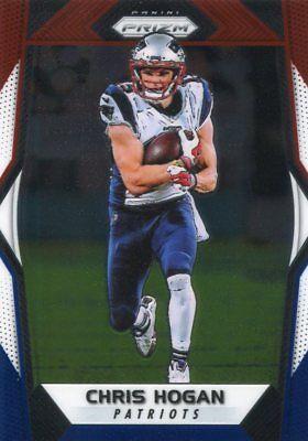 2017 Prizms Red White Blue Chris Hogan New England Patriots Prizm