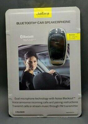 Jabra Cruiser Bluetooth Car Kit Speakerphone 450775 NEW Sealed w/ AC Adapter for sale  Bremerton