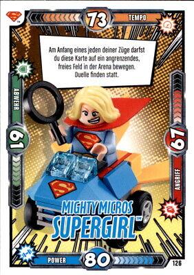 LEGO BATMAN MOVIE KARTEN NR 126 MIGHTY MICROS SUPERGIRL