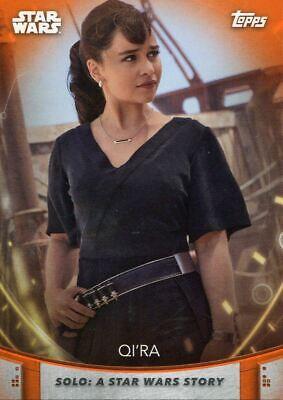 Women Of Star Wars Orange Base Card #61 Qi'Ra