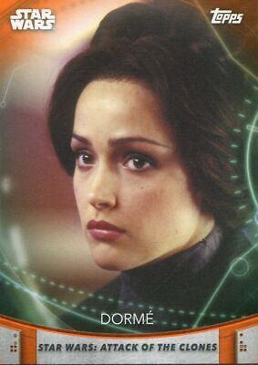 Women Of Star Wars Orange Base Card #21 Dorme