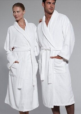 SALE!! Kassatex Luxurious Bamboo Egyptian Cotton Bath Robe One Size 4 Colors