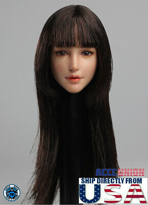 """Super duck 1//6 female head SDH017 A for phicen Pale 12/"""" figure hot toys ❶USA❶"""