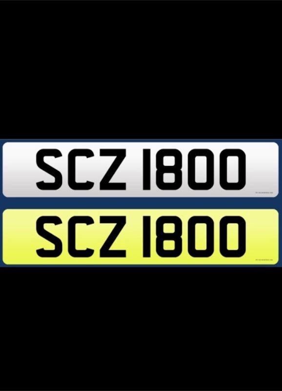 Number+Plate+SCZ+1800+Suits%3A+Seat+Cupra+%26+Suzuki+%26+Scotland+%26+Subaru++%2ADateless%2A