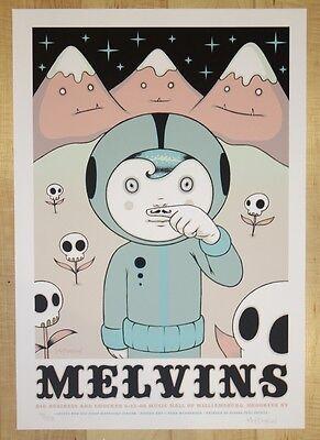 2008 The Melvins - Brooklyn Silkscreen Concert Poster by Tara McPherson