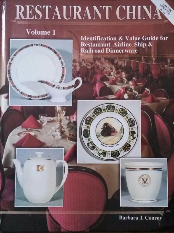 RESTAURANT CHINA ENCYCLOPEDIA ID VALUE GUIDE COLLECTOR