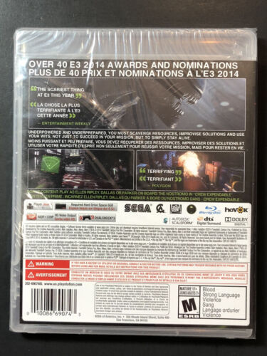 Alien Isolation Nostromo Edition PS3 NEW - $35.18