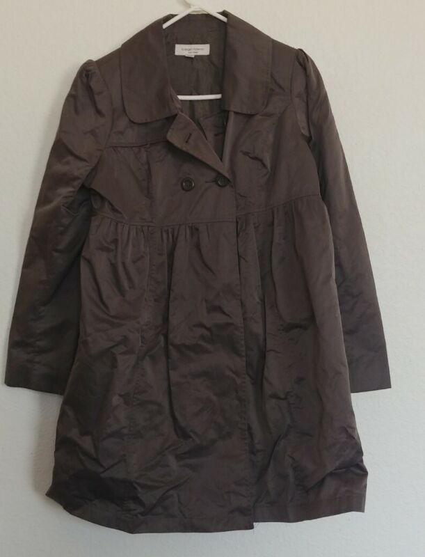 Maternity S ~ Liz Lange ~ Green Jacket Coat