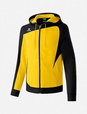 ERIMA  Kapuzenjacke - Hoody CLUB 1900 Gr. XL  *NEU* gelb-schwarz