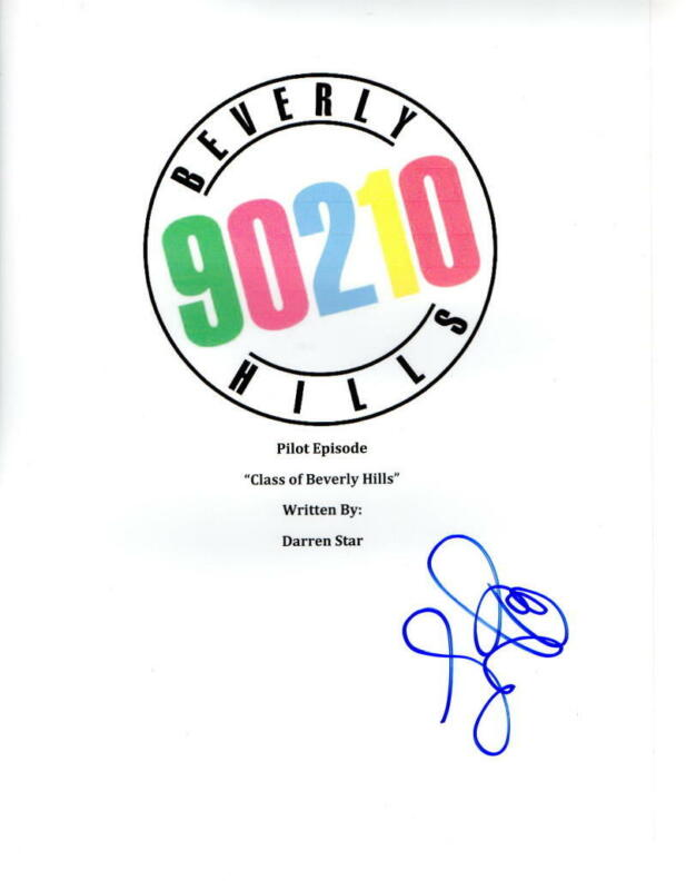 LUKE PERRY SIGNED BEVERLY HILLS 90210 PILOT EP SCRIPT AUTHENTIC AUTOGRAPH COA