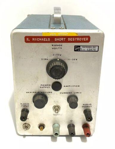 Tektronix Short Destroyer Audio Verstärker Radio Test Equipment Selten